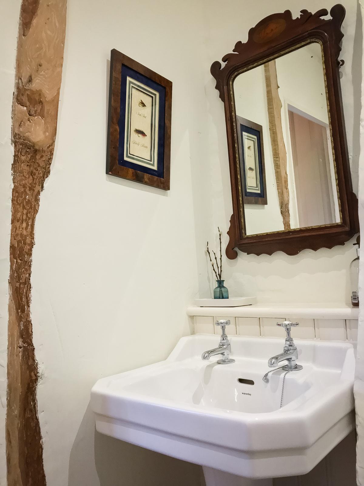 Spare room bathroom